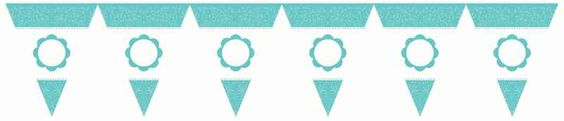 Robins Egg Blue Personalized Banner Kit | 1ct