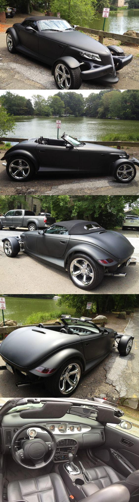 Plymouth Prowler--This car was the first car I ever fell in love with... you never forget your first love!