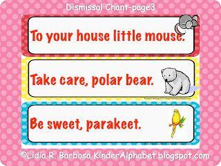 Kinder Alphabet: Back to School Blog Hunt with a Kindergarten Rhyme