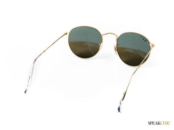 Lentes Ray-Ban Round Metal Polarizados En Azul.  #rayban #blue #azul #retro #chic #look #musthave #new #glasess #sunglasses #sun #polarizado #polarized #lentes #sol #lentesdesol  CÓMPRALO EN  http://www.speakchic.mx/collections/nuevo/products/lentes-ray-ban-round-metal-polarizados-en-azul