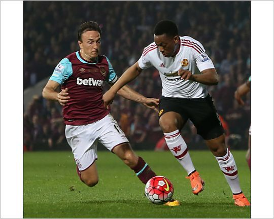 West Ham United v Manchester United - Premier League - LONDON, ENGLAND - MAY 10 Photographic Print - 12075441 - Manchester United