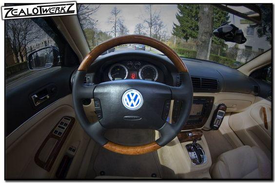 Wurzelholz trifft auf VW