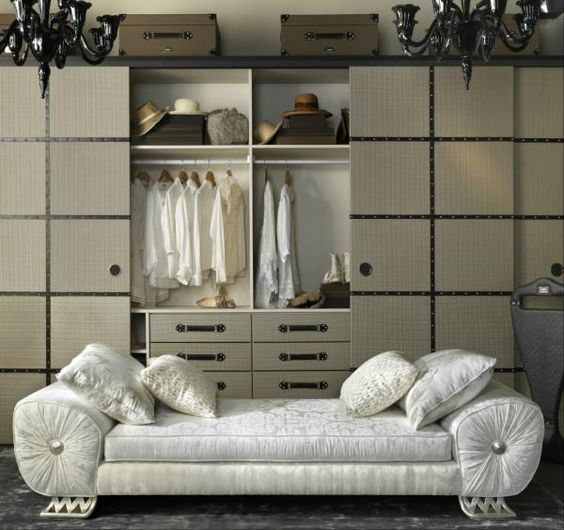 Leather Wardrobes from Coleccion Alexandra's Traveler Group of home furnishings! www.luxuriousliving.co.uk