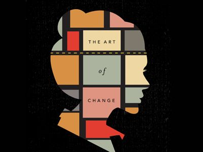 The Art of Change book cover design by Meredith Brenner