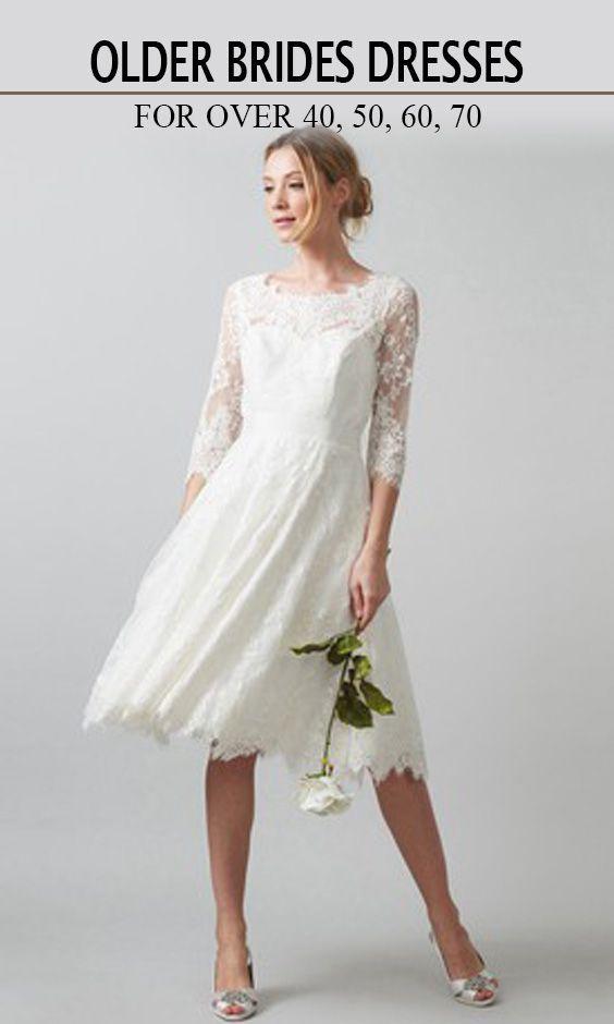Wedding Dresses For Older Brides Over 40 50 60 70 Older Bride Dresses Older Bride Chiffon Wedding Gowns