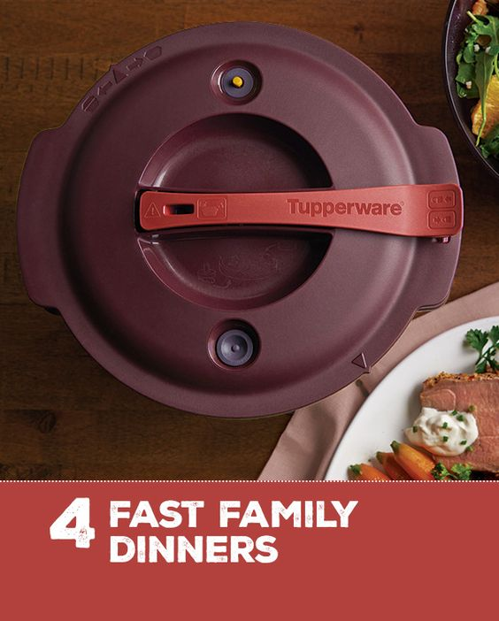 Take the pressure out of dinner prep every night this week, thanks to the Microwave Pressure Cooker!