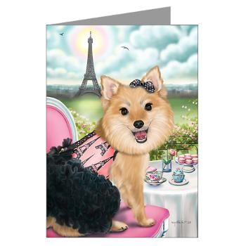 Zoey Bear 2 Greeting Card
