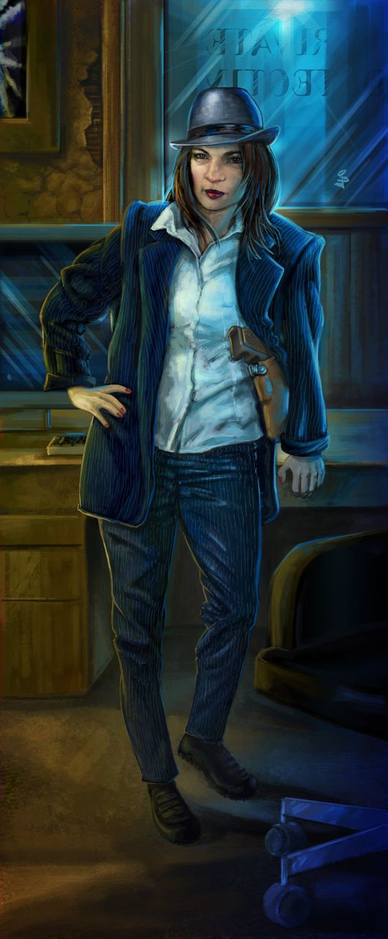 Shadowrun Detective by ~Tryryche on deviantART ... Futuristic Police Officer