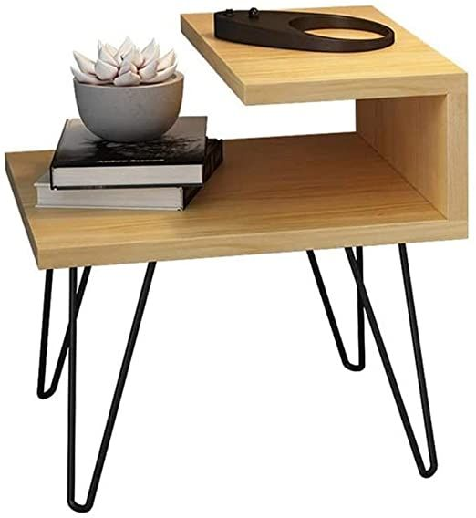Tjlss Wrought Iron Bedside Table Industrial Nightstand Tables Sofa Bed Side Table For In 2020 Iron Bedside Table Wrought Iron Bedside Tables Industrial Bedside Tables