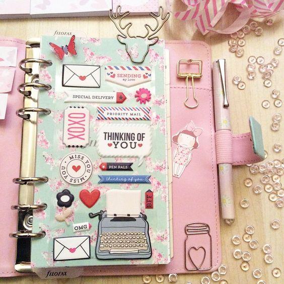 Fichários para bullet journal/planner A5 e qual é o meu
