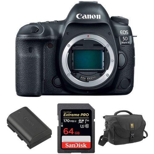 Canon Eos 5d Mark Iv Dslr Camera Body With Accessory Kit Canon
