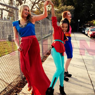 From left to right, Leven Rambin, Amandla Stenberg, Jackie Emerson :3