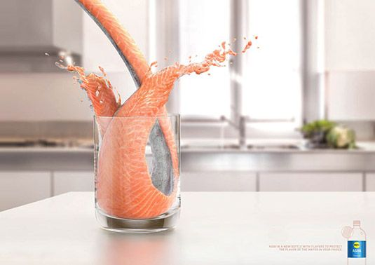 Supermarket splashes out on tasty new print ads | Print design | Gross....yet I'm amazed by the details in the design!