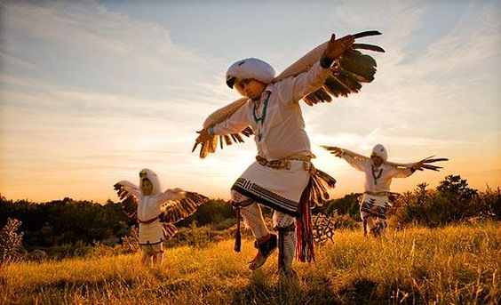 The Eagle Dance is performed by many Native American Indians as part of their ceremonies. However, the details of the dance will vary from tribe to tribe.