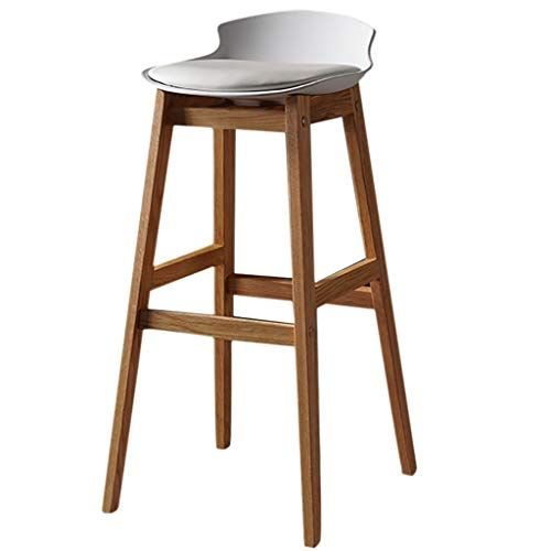 Bar Stool Breakfast Kitchen Counter Chairs Wood Barstools 6