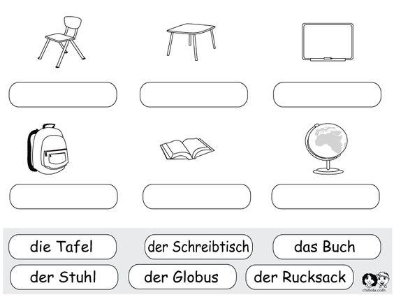 school worksheets german german worksheets for children deutsch f r kinder arbeitsbl tter. Black Bedroom Furniture Sets. Home Design Ideas