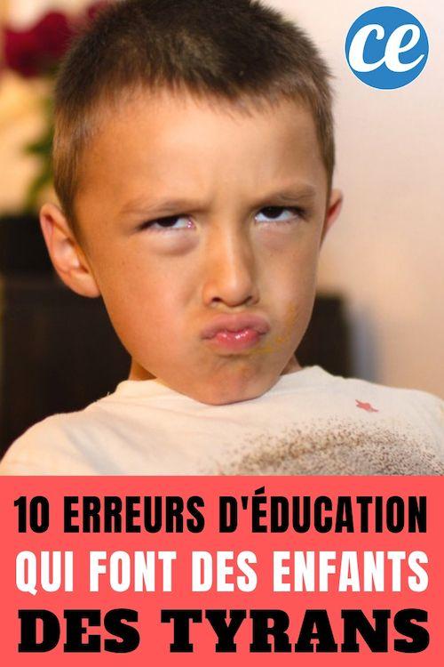 10 Facons D Elever Un Enfant Si Vous Voulez Qu Il Devienne Egocentrique Et Mal Eleve Elever Des Enfants Enfant Education Enfant