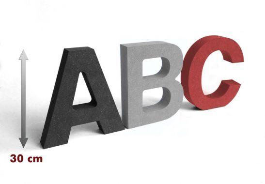 Lettere decorative - Lettere in legno MDF - Lettere alte 30 cm