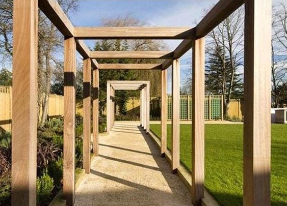 Pergola garden design pergolas pinterest for sale for Simple pergola ideas