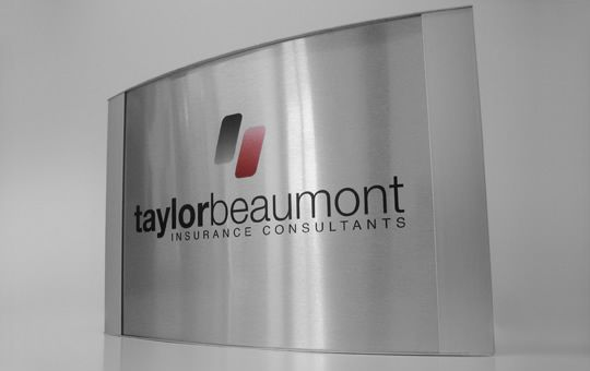 Nameplate desk office and offices on pinterest - Glass office door signs ...