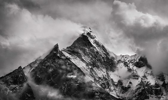 Ama Dablam North Face by Koveh Tavakkol