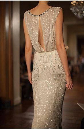 ~Jenny Packham 'Esme' dress.