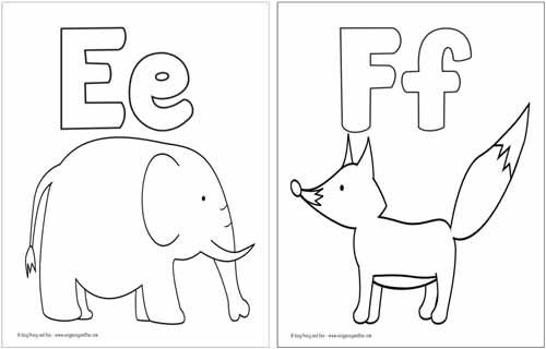 Free Printable Letter A Coloring Pages Preschool