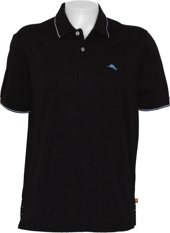 Tommy Bahama Island Lite Polo Polo Shirt in Black