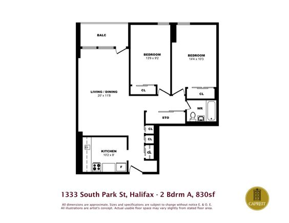 Apartments For Rent Halifax   Park Victoria Apartments   1333 South Park  Street, #floorplans, One Bedroom | Halifax Apartments For Rent | Pinterest  ...