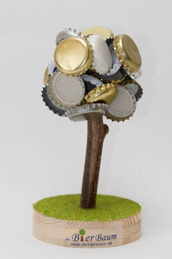 Magnetischer Bierbaum - Anziehender Kronkorken-Sammler #cool Bier