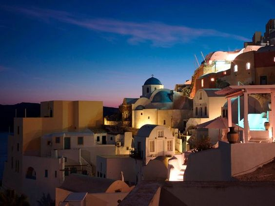 Greece! Sad to say the Sisterhood of the Traveling Pants inspired my love for this place, but it truly is beautiful