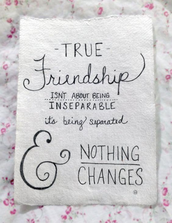 Custom Hand Drawn Typography Art {{ Friendship