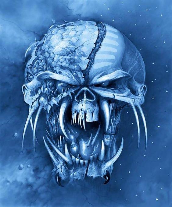 Skull: Iron Maiden Art, Eddie Iron Maiden, Art Skulls, Eddie Art, Final Frontier, Iron Maiden Bruce, Iron Maiden Eddie, Frontier Artwork