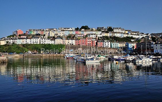 Reflections Brixham Harbour - Torbay