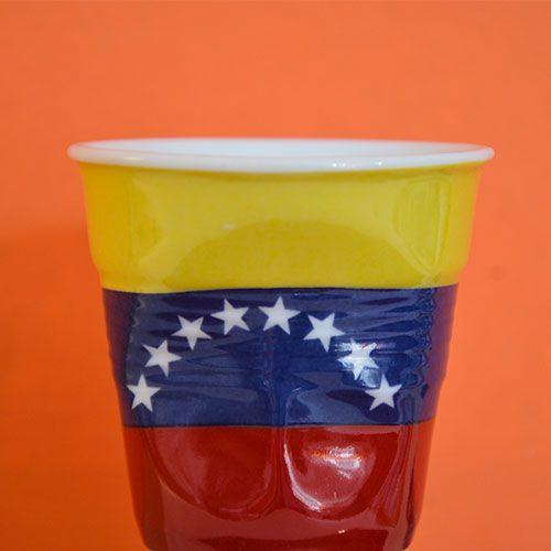 Tasse froissée Flag Venezuela par Revol