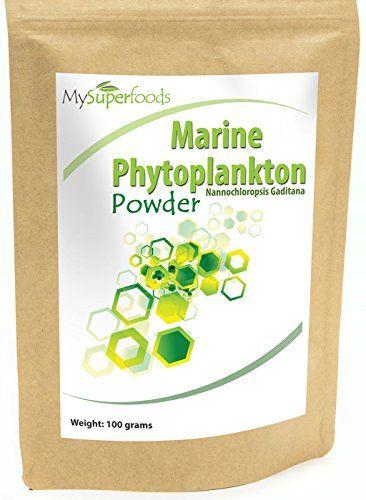 Phytoplancton marin en poudre (100g) | La plus haute qualité disponible | Par MySuperfoods: SUPERALIMENT PUISSANT : Nous avons transformé…