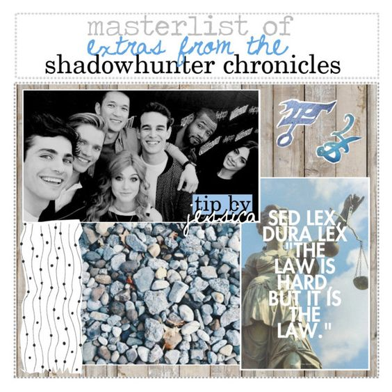 """""""masterlist of extras from the shadowhunter chronicles 