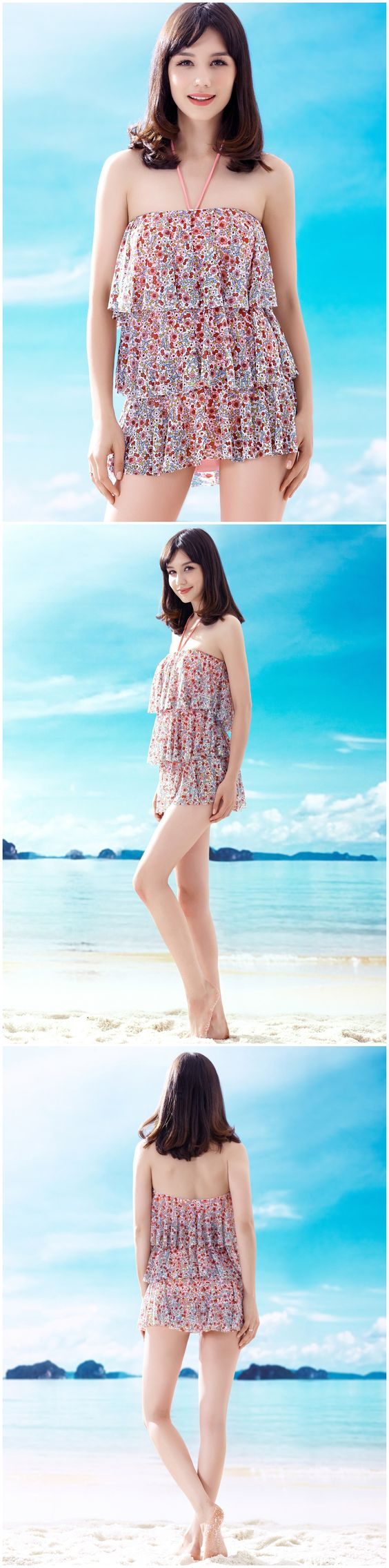 Summer Cool Lovely Floral Print Cake Shape Strapless Halter Neck Padded Push Up One Piece Conjoined Skirted Swimsuits Bathing Suit http://www.amazon.co.uk/s/ref=sr_il_ti_merchant-items?me=AWH6KY5XWWO07&rh=i%3Amerchant-items&ie=UTF8&qid=1433385992&lo=merchant-items