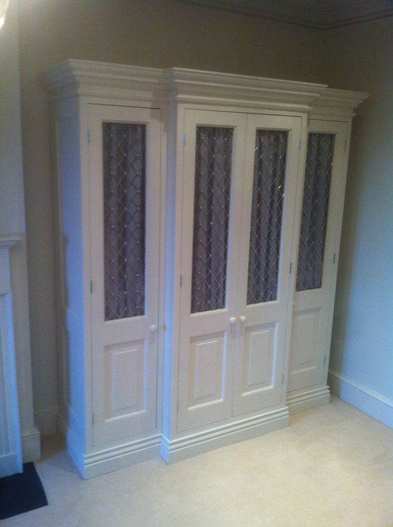1 of 2 bespoke wardrobes. Made from Tulip.