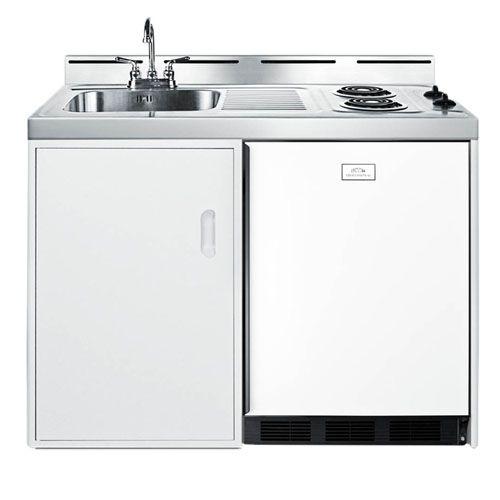 Summit C48el Kitchen Appliances Compact Kitchen Outdoor