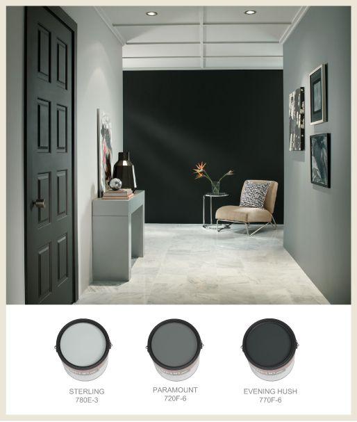 Black Paint Colors: Colors: Gray To Black