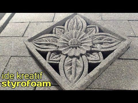 Membuat Batu Alam Dari Styrofoam Diy Room Decor Youtube Di 2020