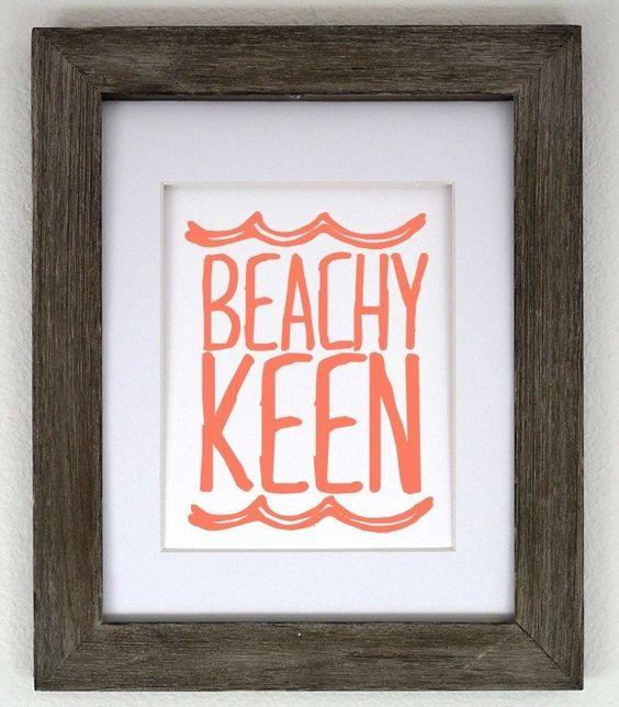 Beachy Keen 8x10 Print