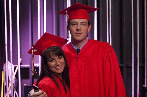 "Finchel! Rachel and Finn in the ""Goodbye"" episode. Original Air Date 5/22/2012"
