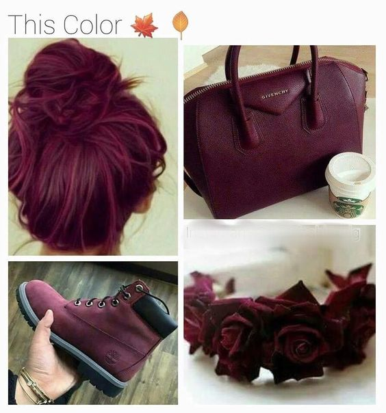 1000 ideas about wine colored hair on pinterest wine hair wine red hair and hair - The splendid transformation of a vineyard in burgundy ...