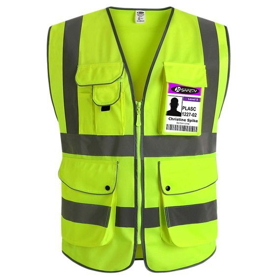 Safety Vest Safety Vest Safety Workwear Cargo Jacket