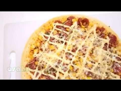 Cara Mudah Membuat Pizza Teflon Pizza Teflon Homemade Makanan Cemilan Resep Makanan