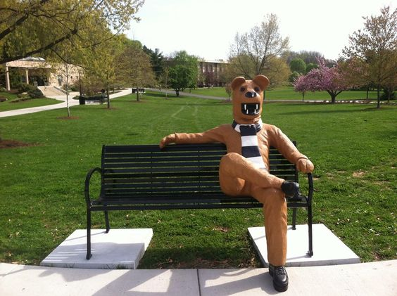 Image result for penn state gift of bench