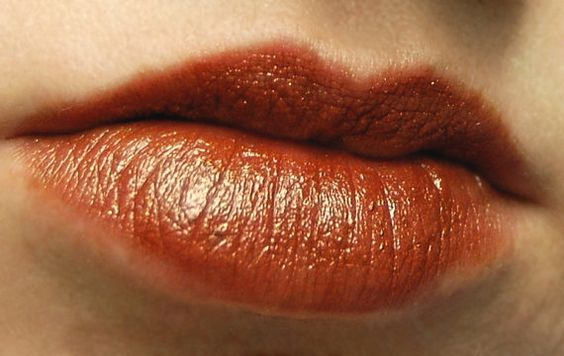 Cinnamon & Chocolate Lipstick  CACAO KISS Mineral by BLSoaps, $10.95