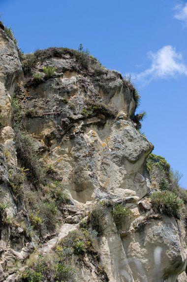 INGAPIRCA un destino de luz - Revista Hogar - Ecuador - Se cree que la Cara del Inca, se realizó con intervención tanto de la naturaleza como de la mano del hombre.